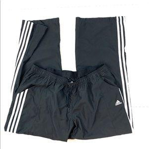 Adidas Black White Athletic Pants